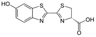 D-luciferin structure