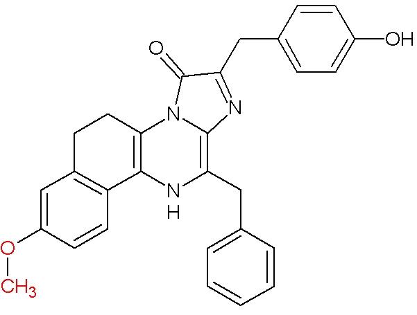 methoxy eCTZ structure
