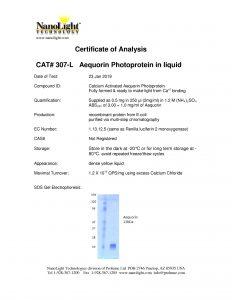 307-L Aeq in liquid CoA